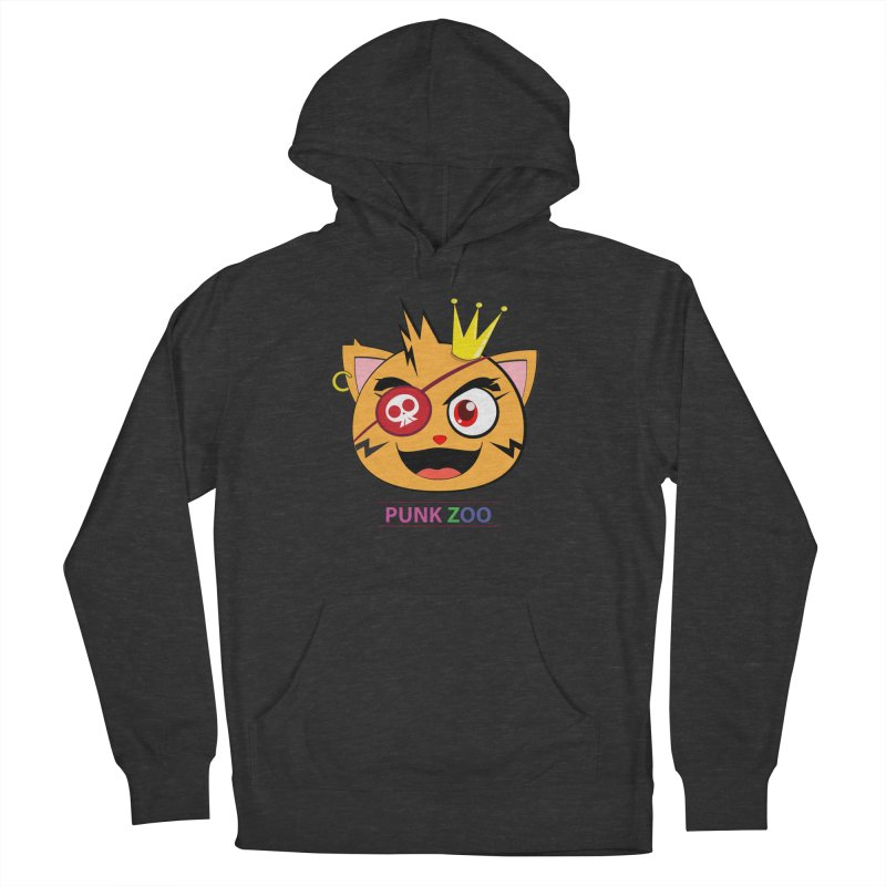 Punk Zoo King Neko Women's French Terry Pullover Hoody by punkzoo's Artist Shop