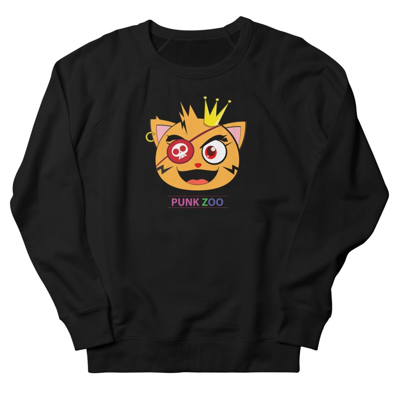 Punk Zoo King Neko Men's French Terry Sweatshirt by punkzoo's Artist Shop