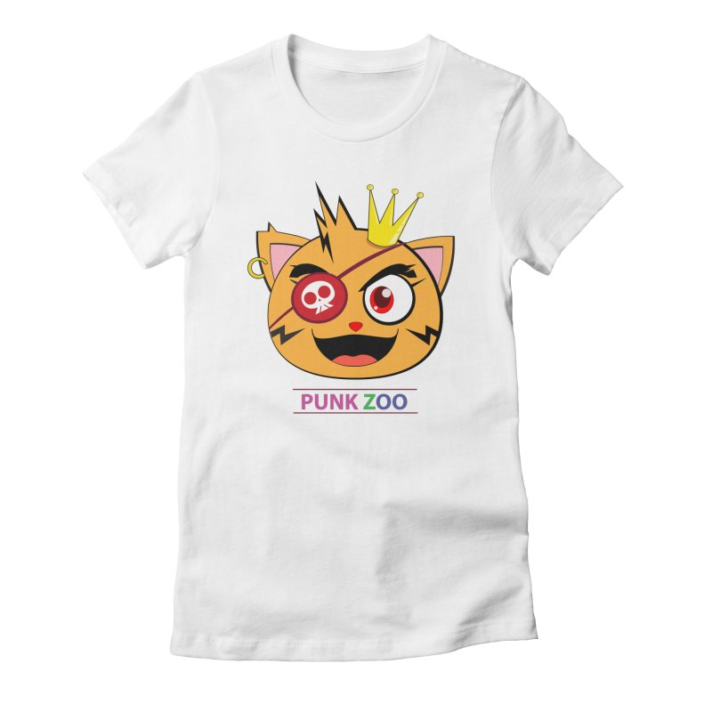 Punk Zoo King Neko Women's T-Shirt by punkzoo's Artist Shop