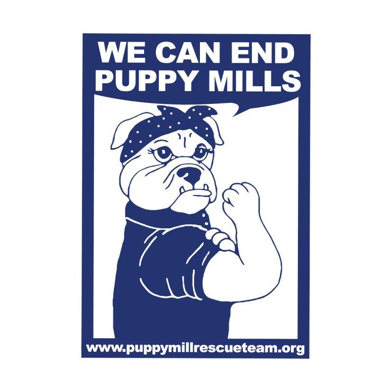 We Can End Puppy Mills Women's Zip-Up Hoody by puppymillrescueteam's Artist Shop