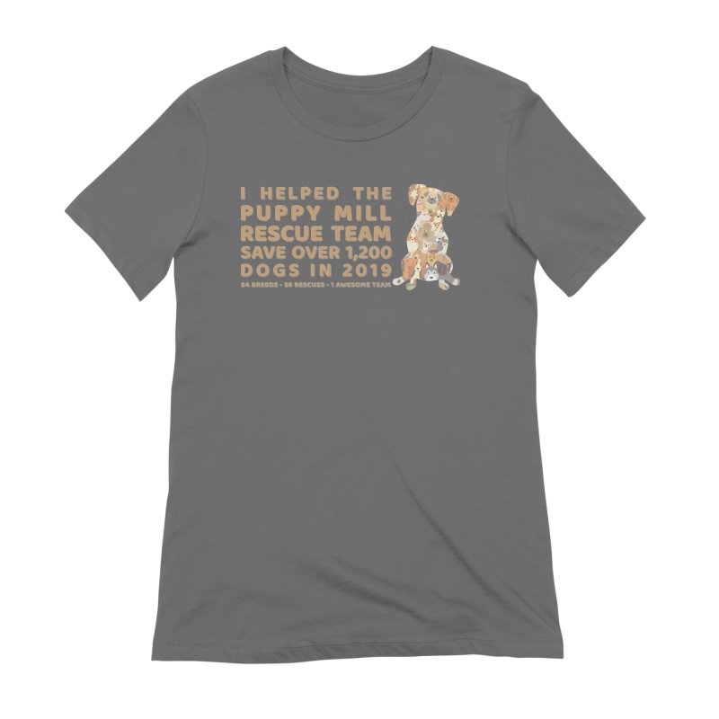 2019 Dogs in Dog Women's T-Shirt by puppymillrescueteam's Artist Shop