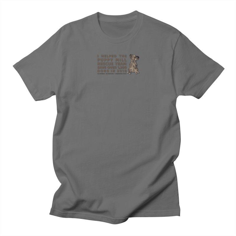 2019 Fur Men's T-Shirt by puppymillrescueteam's Artist Shop