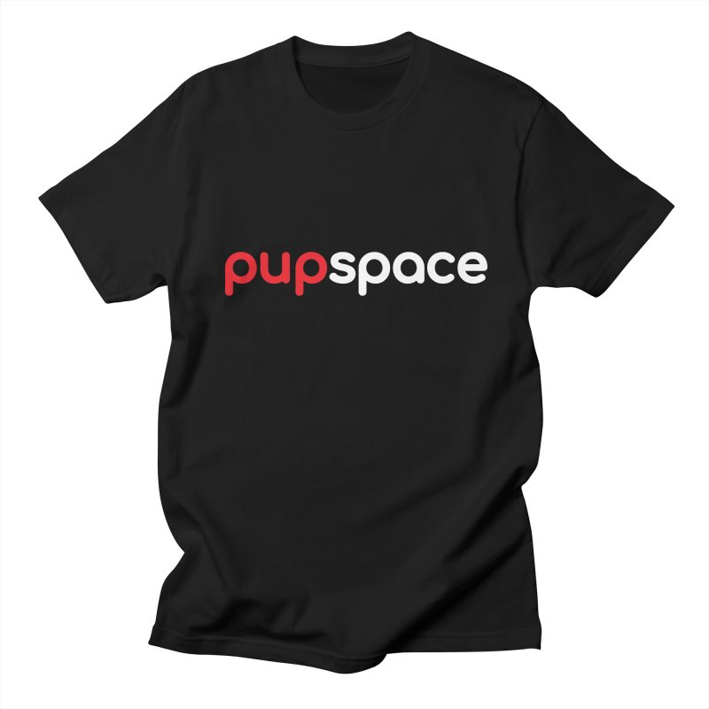 Pupspace Logo T-Shirt Men's T-Shirt by pupspace's Artist Shop