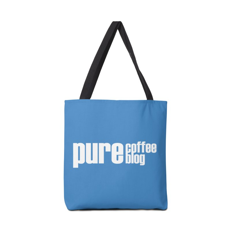 PCB Classic -white text Accessories Bag by Pure Coffee Blog Shop
