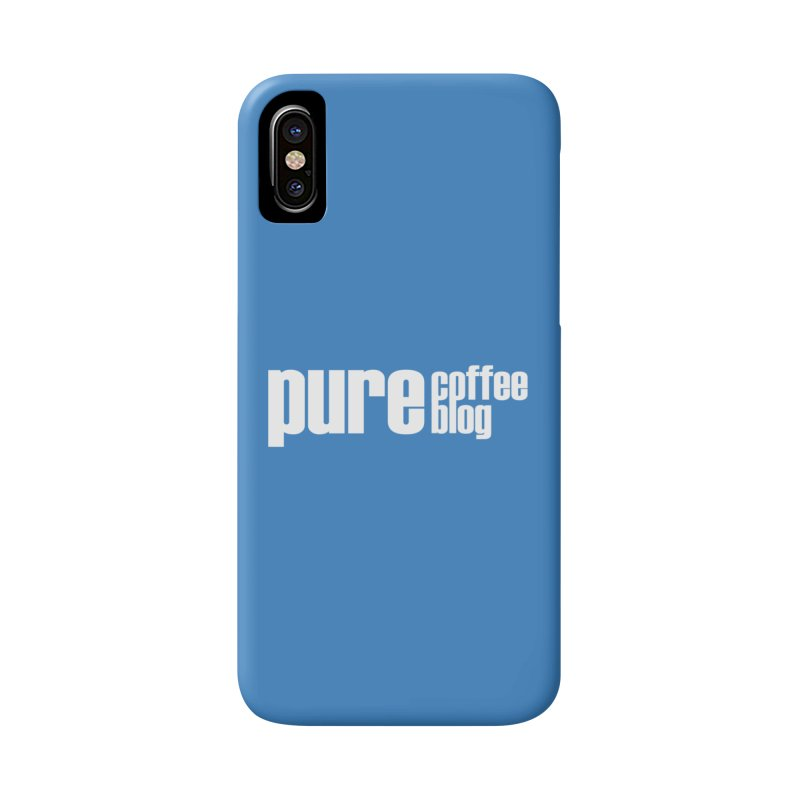 PCB Classic -white text Accessories Phone Case by Pure Coffee Blog Shop
