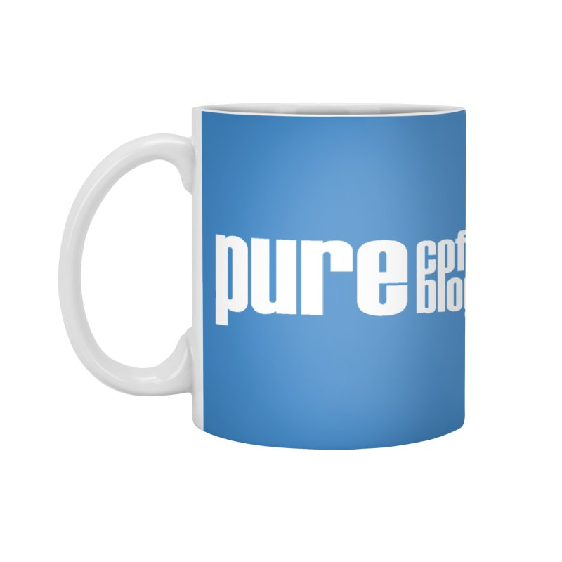 PCB Classic -white text Accessories Mug by Pure Coffee Blog Shop