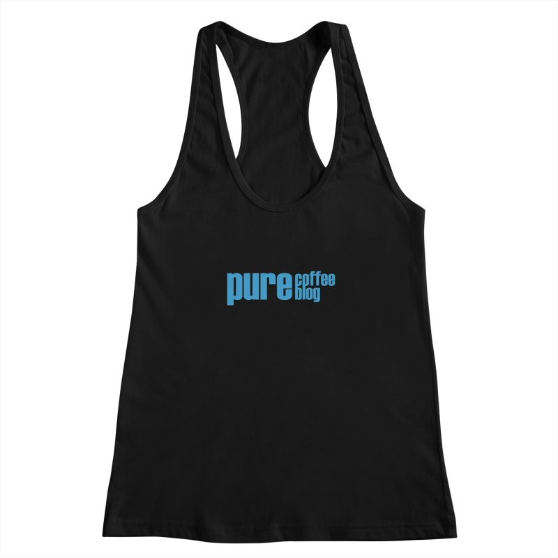 PCB Classic - blue text Women's Tank by Pure Coffee Blog Shop