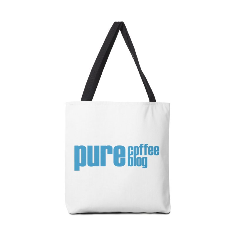 PCB Classic - blue text Accessories Bag by Pure Coffee Blog Shop