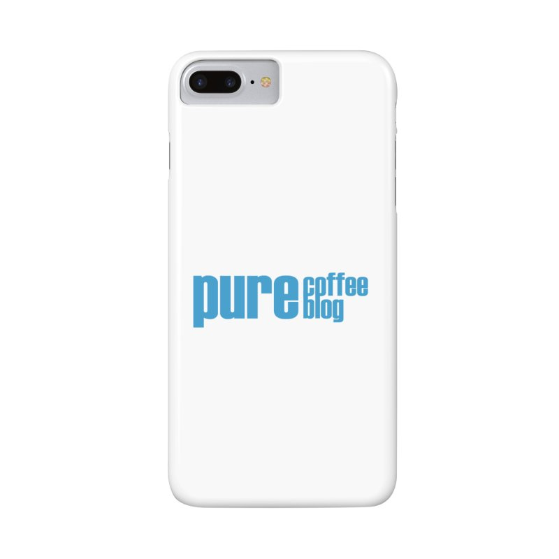 PCB Classic - blue text Accessories Phone Case by Pure Coffee Blog Shop