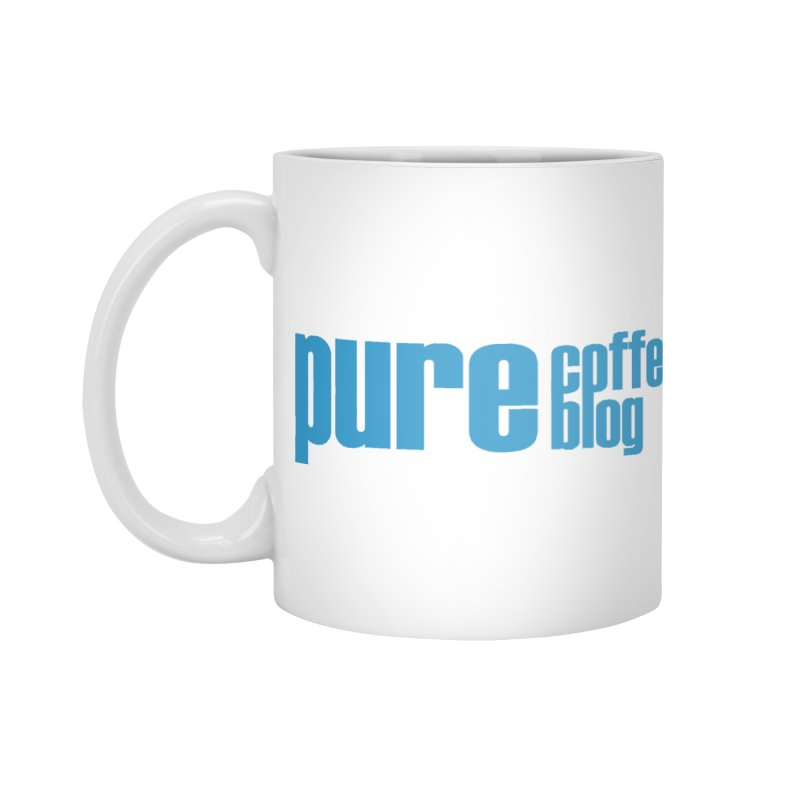 PCB Classic - blue text Accessories Mug by Pure Coffee Blog Shop