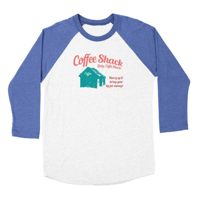Coffee Shack, Baby Coffee Shack! Women's Longsleeve T-Shirt by Pure Coffee Blog Shop