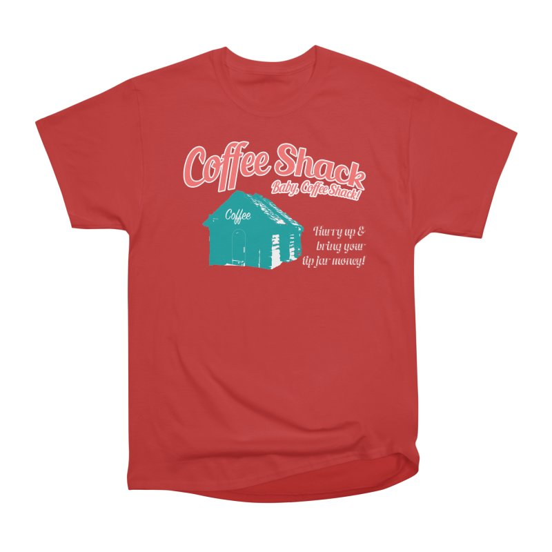 Coffee Shack, Baby Coffee Shack! Men's Heavyweight T-Shirt by Pure Coffee Blog Shop