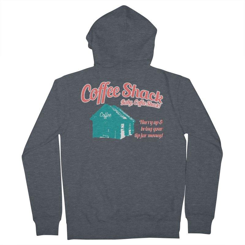 Coffee Shack, Baby Coffee Shack! Women's Zip-Up Hoody by Pure Coffee Blog Shop