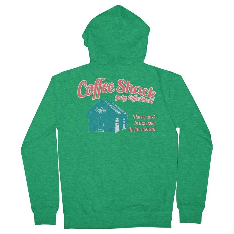 Coffee Shack, Baby Coffee Shack! Men's Zip-Up Hoody by Pure Coffee Blog Shop