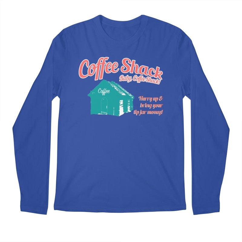 Coffee Shack, Baby Coffee Shack! Men's Regular Longsleeve T-Shirt by Pure Coffee Blog Shop