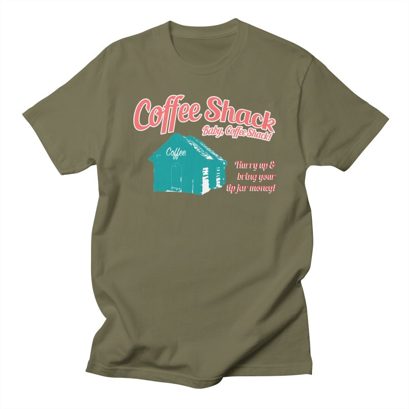 Coffee Shack, Baby Coffee Shack! Women's Regular Unisex T-Shirt by Pure Coffee Blog Shop