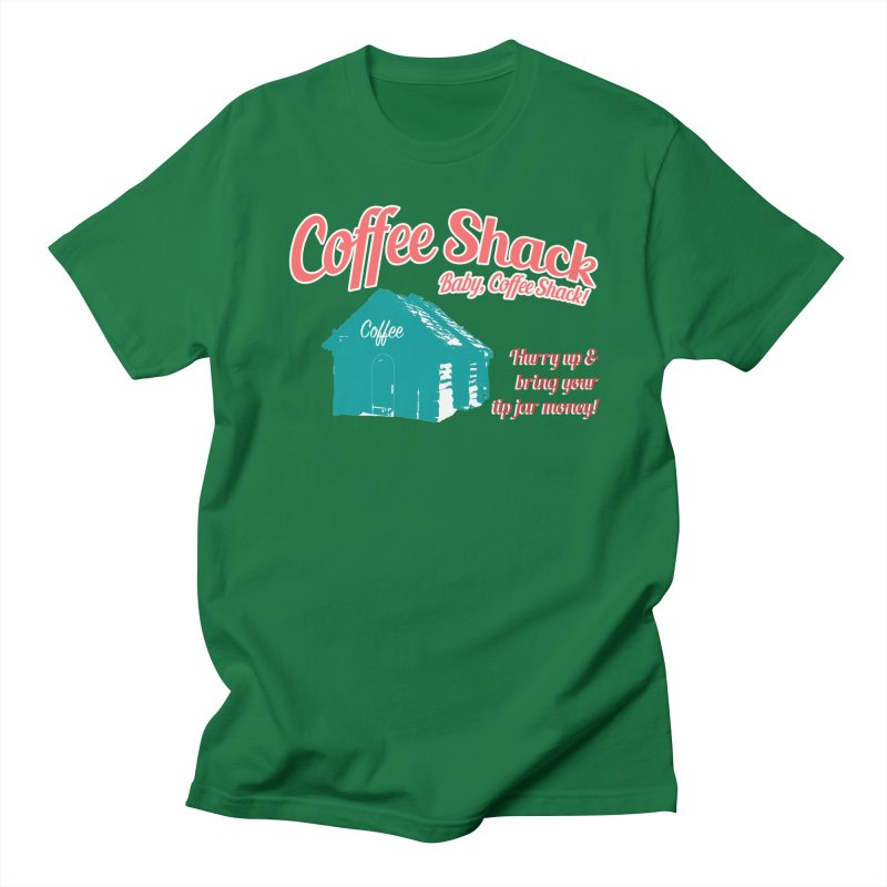 Coffee Shack, Baby Coffee Shack! Men's Regular T-Shirt by Pure Coffee Blog Shop