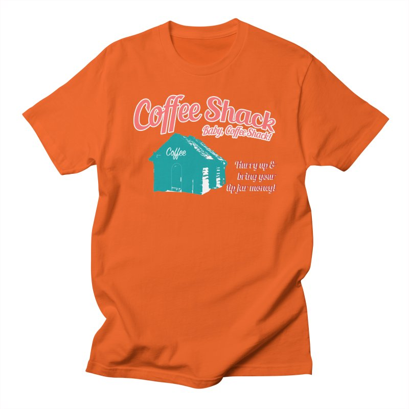 Coffee Shack, Baby Coffee Shack! Men's Regular T-Shirt by Pure Coffee Blog Shop