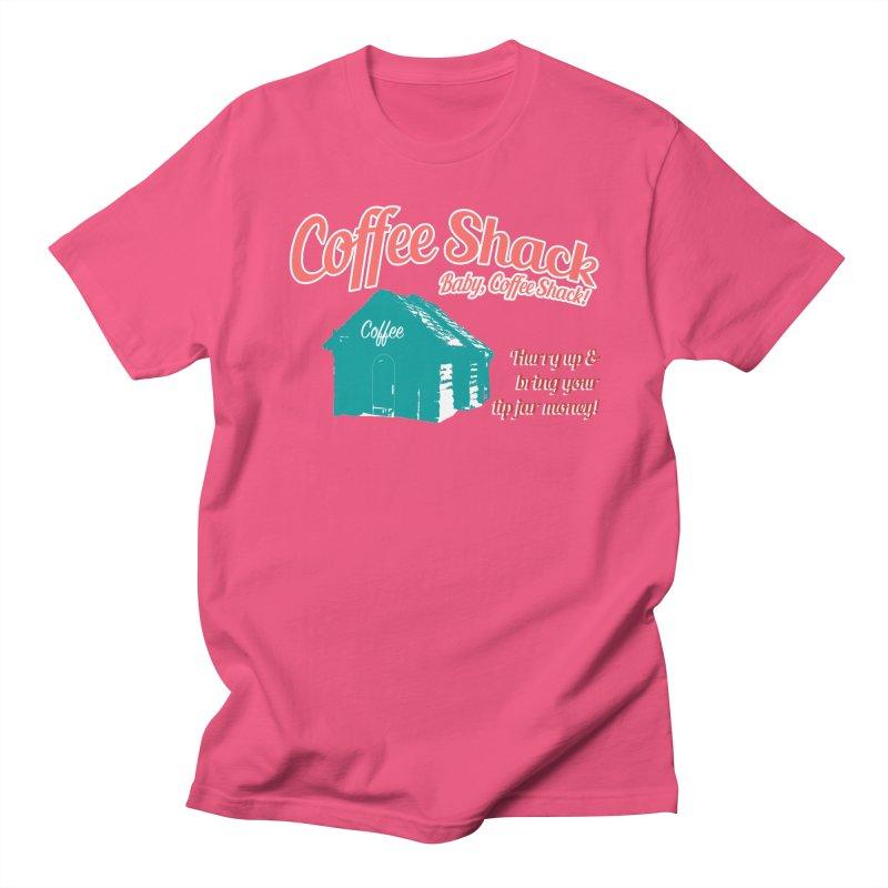 Coffee Shack, Baby Coffee Shack! Women's Regular Unisex T-Shirt by Pure Coffee Blog Shop