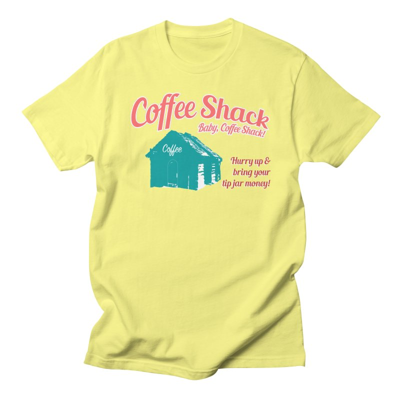 Coffee Shack, Baby Coffee Shack! Men's T-Shirt by Pure Coffee Blog Shop