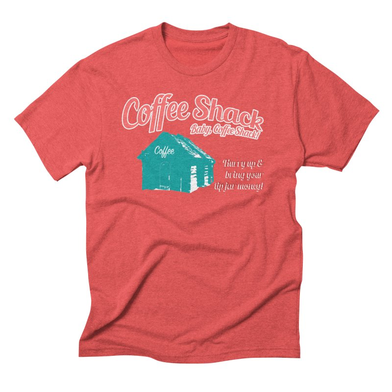 Coffee Shack, Baby Coffee Shack! Men's Triblend T-Shirt by Pure Coffee Blog Shop