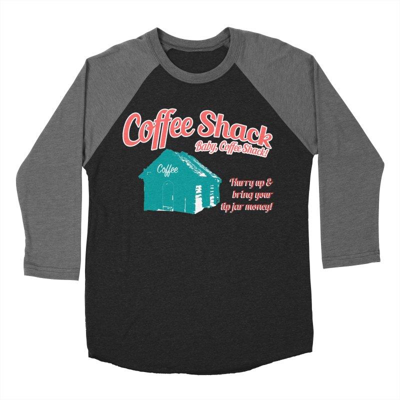 Coffee Shack, Baby Coffee Shack! Women's Baseball Triblend Longsleeve T-Shirt by Pure Coffee Blog Shop