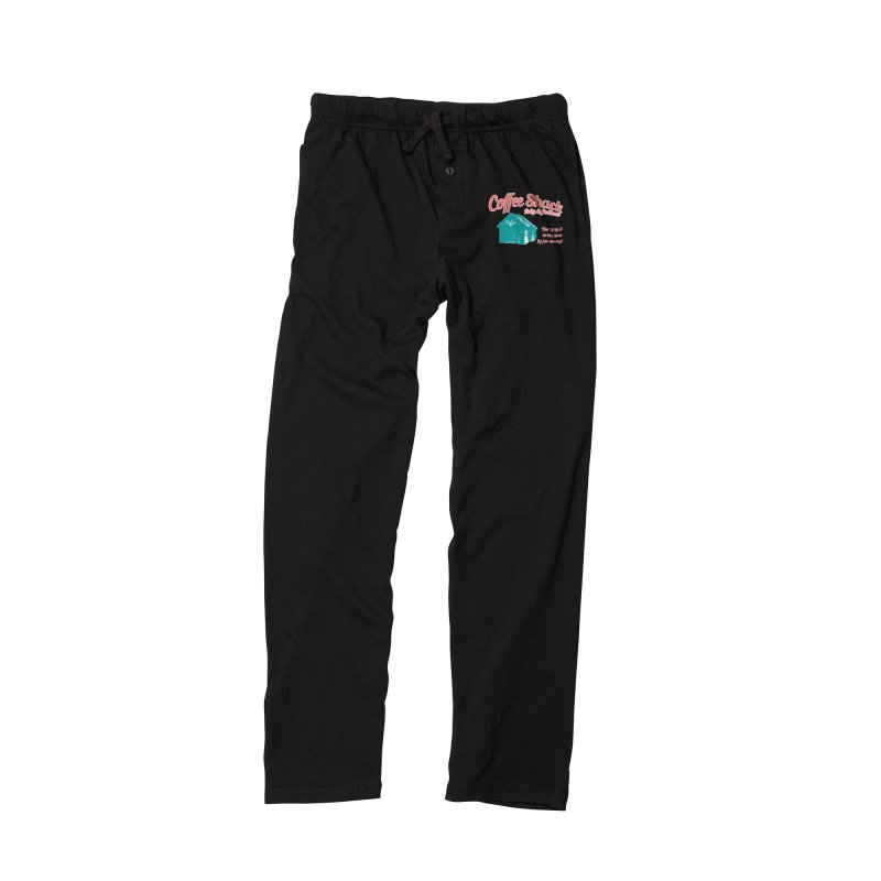Coffee Shack, Baby Coffee Shack! Men's Lounge Pants by Pure Coffee Blog Shop