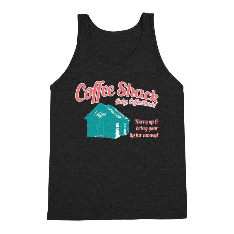 Coffee Shack, Baby Coffee Shack! Men's Tank by Pure Coffee Blog Shop