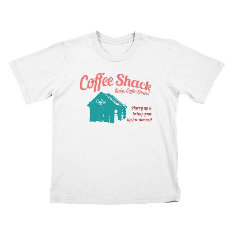 Coffee Shack, Baby Coffee Shack! Kids T-Shirt by Pure Coffee Blog Shop