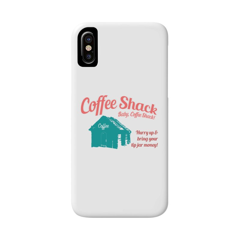 Coffee Shack, Baby Coffee Shack! Accessories Phone Case by Pure Coffee Blog Shop