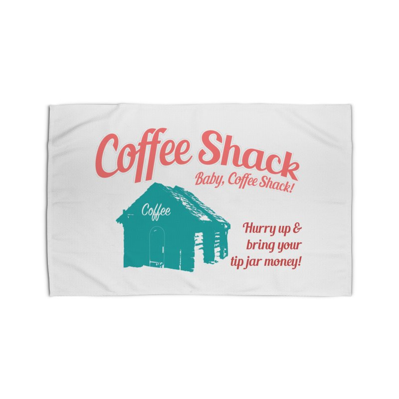 Coffee Shack, Baby Coffee Shack! Home Rug by Pure Coffee Blog Shop