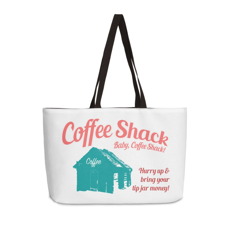 Coffee Shack, Baby Coffee Shack! Accessories Bag by Pure Coffee Blog Shop
