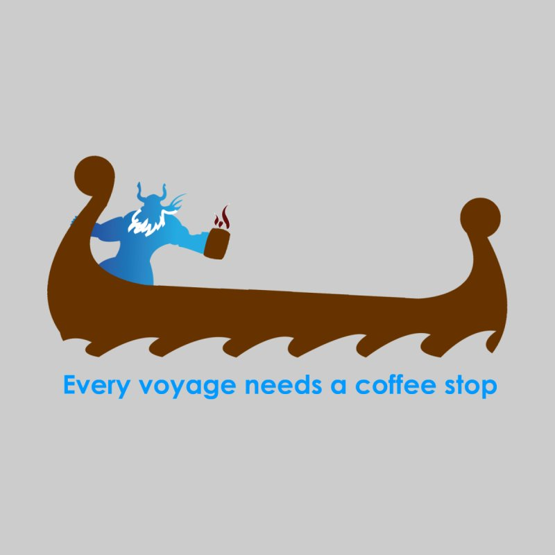 Coffee Voyage - In Color Kids T-Shirt by Pure Coffee Blog Shop