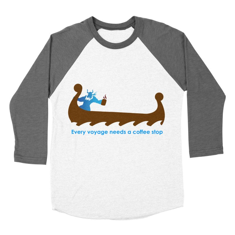 Coffee Voyage - In Color Women's Longsleeve T-Shirt by Pure Coffee Blog Shop