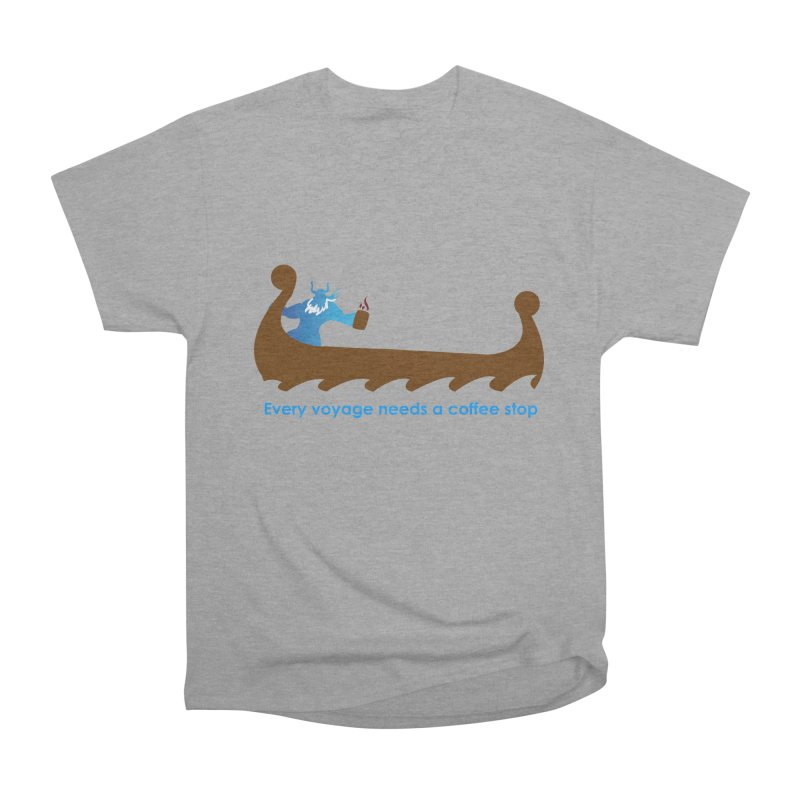 Coffee Voyage - In Color Men's Heavyweight T-Shirt by Pure Coffee Blog Shop