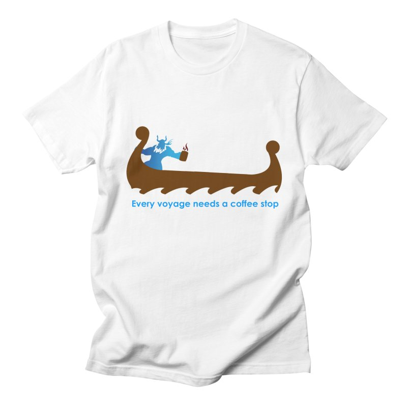 Coffee Voyage - In Color Men's T-Shirt by Pure Coffee Blog Shop