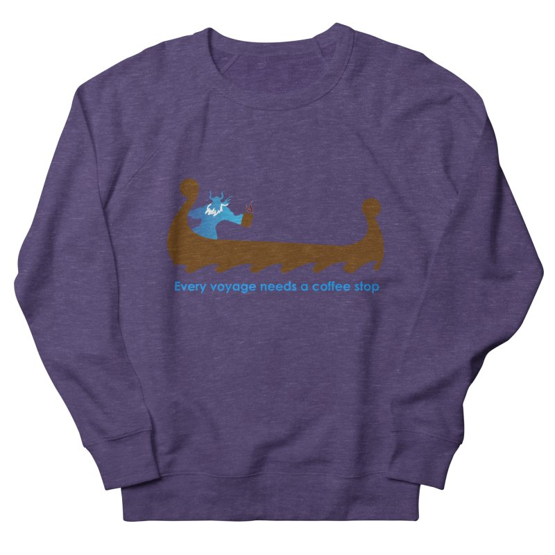 Coffee Voyage - In Color Men's French Terry Sweatshirt by Pure Coffee Blog Shop