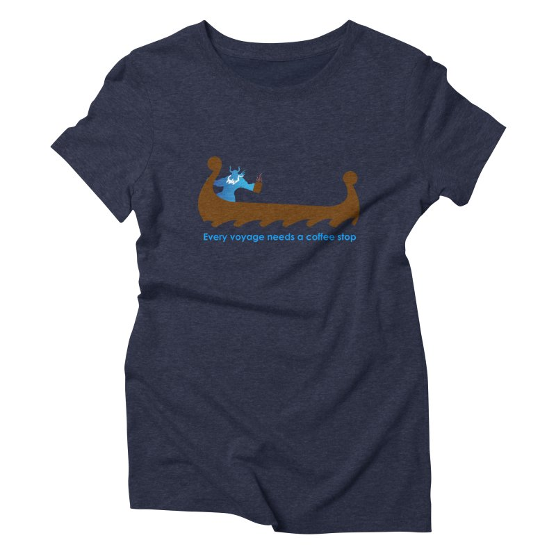 Coffee Voyage - In Color Women's Triblend T-Shirt by Pure Coffee Blog Shop