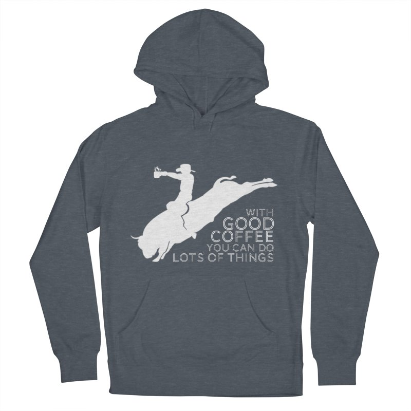Do Lots of Things Men's French Terry Pullover Hoody by Pure Coffee Blog Shop