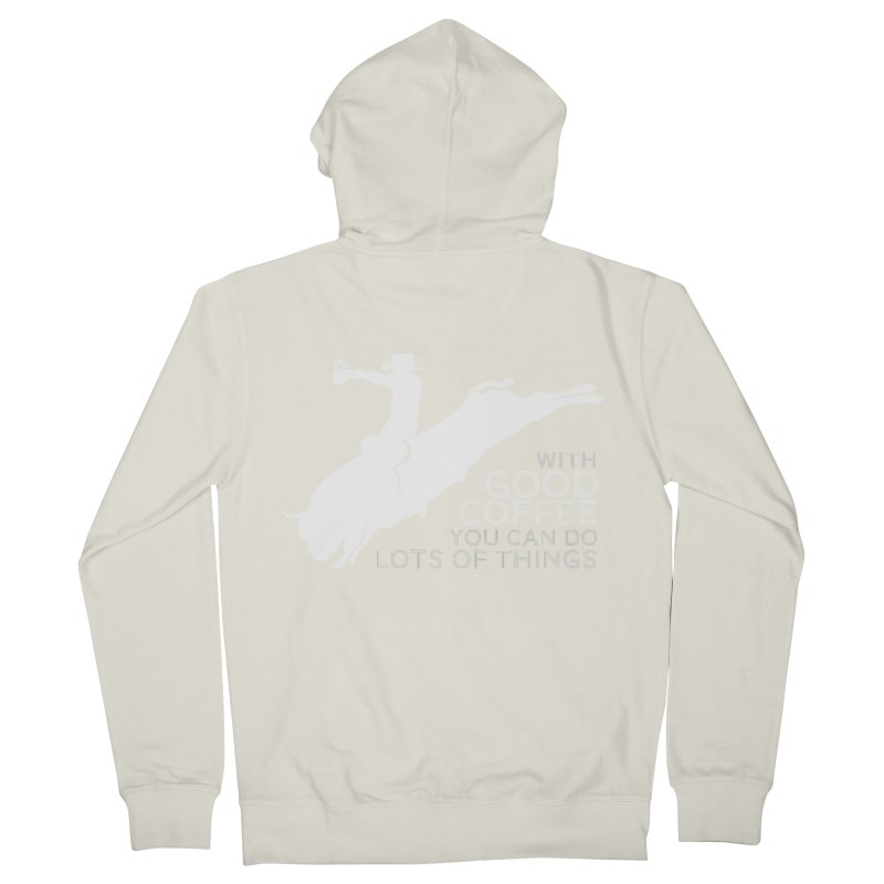 Do Lots of Things Men's French Terry Zip-Up Hoody by Pure Coffee Blog Shop