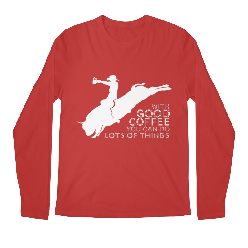 Do Lots of Things Men's Longsleeve T-Shirt by Pure Coffee Blog Shop