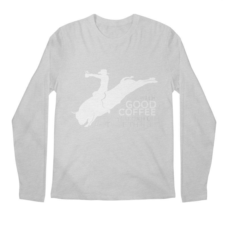 Do Lots of Things Men's Regular Longsleeve T-Shirt by Pure Coffee Blog Shop