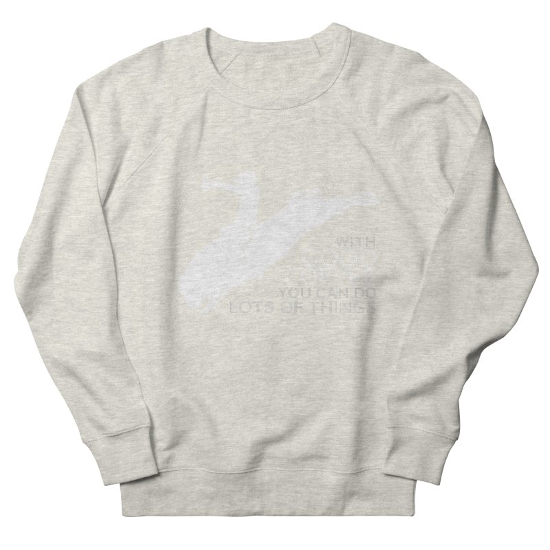 Do Lots of Things Women's French Terry Sweatshirt by Pure Coffee Blog Shop