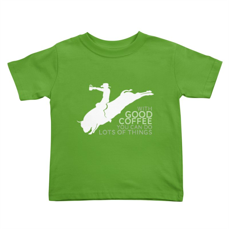 Do Lots of Things Kids Toddler T-Shirt by Pure Coffee Blog Shop