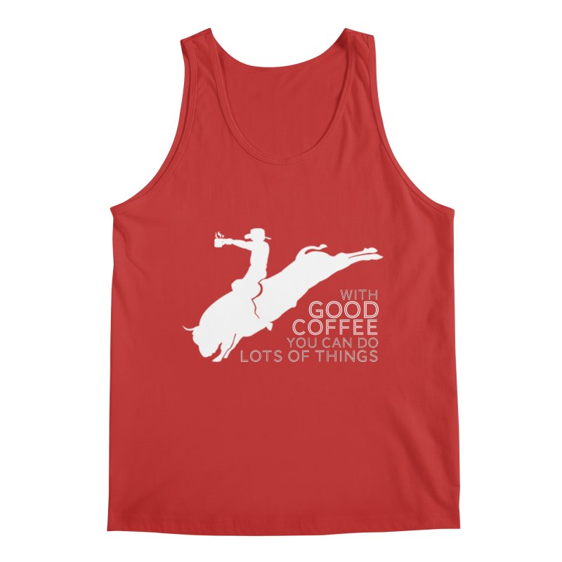 Do Lots of Things Men's Tank by Pure Coffee Blog Shop