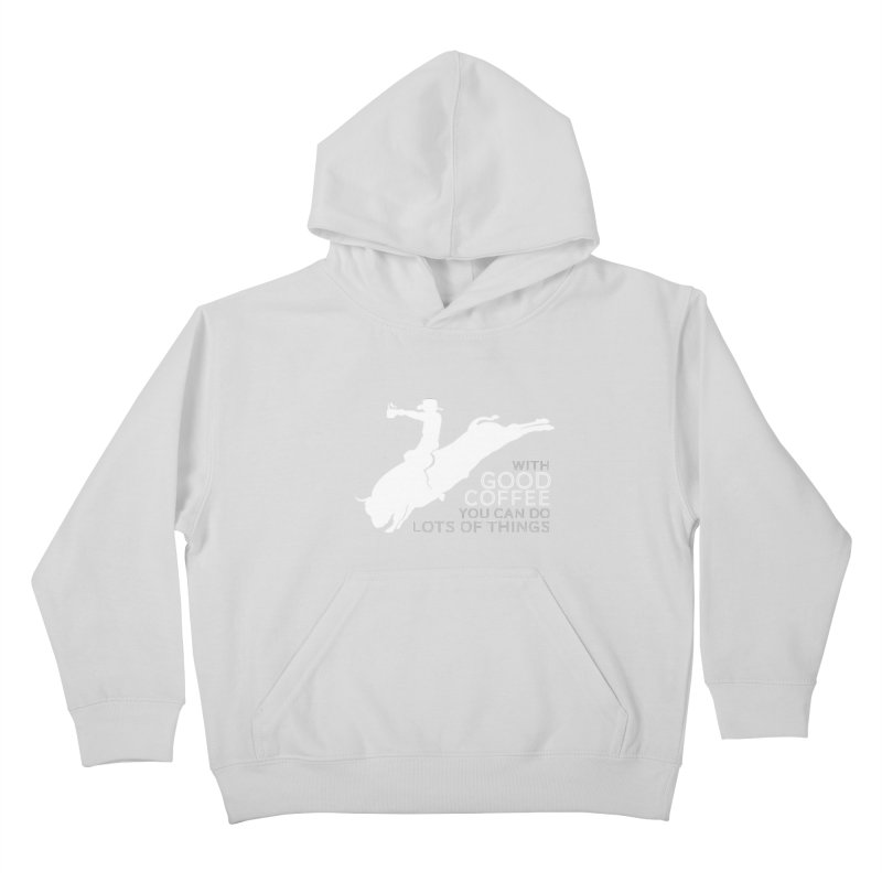 Do Lots of Things Kids Pullover Hoody by Pure Coffee Blog Shop