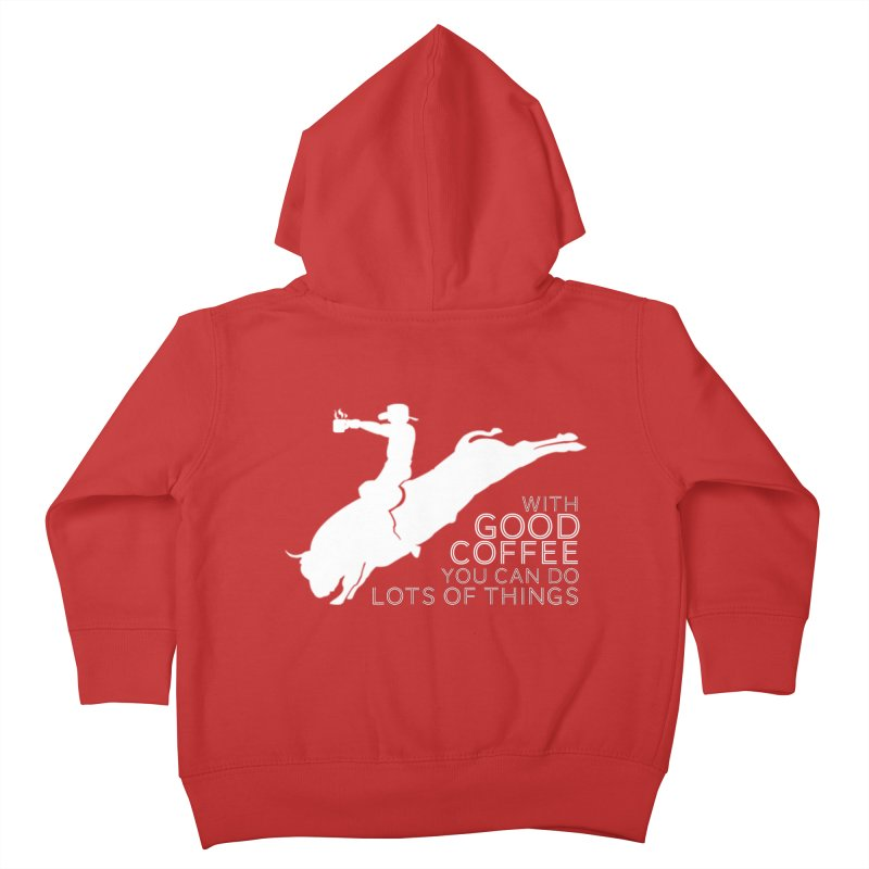 Do Lots of Things Kids Toddler Zip-Up Hoody by Pure Coffee Blog Shop