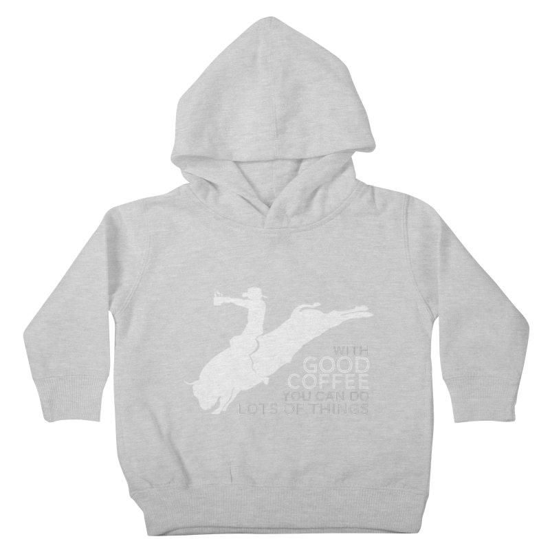 Do Lots of Things Kids Toddler Pullover Hoody by Pure Coffee Blog Shop