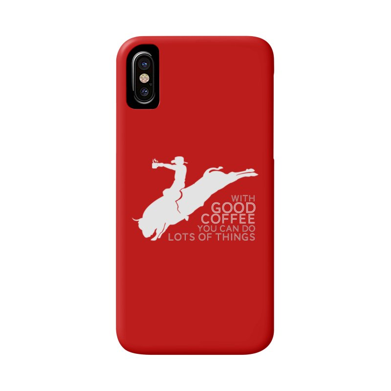 Do Lots of Things Accessories Phone Case by Pure Coffee Blog Shop