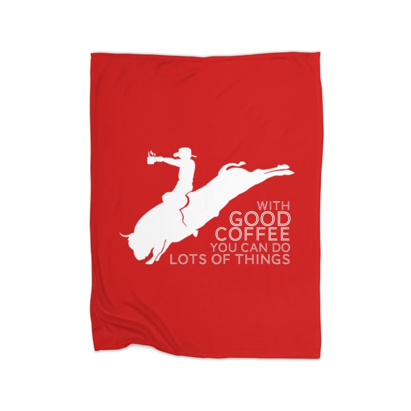 Do Lots of Things Home Blanket by Pure Coffee Blog Shop